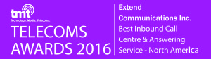 Extend Communications Inc.-TMT Telecoms Awards 2016 (TE160009)Wi